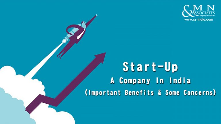 Start-Up - A Company In India
