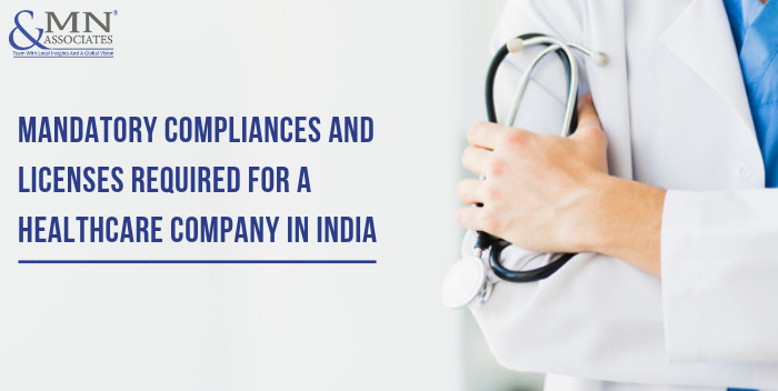 licensces for healthcare company in india