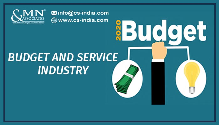 BUDGET 2020 IMPACT ON THE SERVICE SECTOR