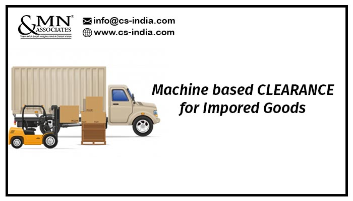 machine based clearance system