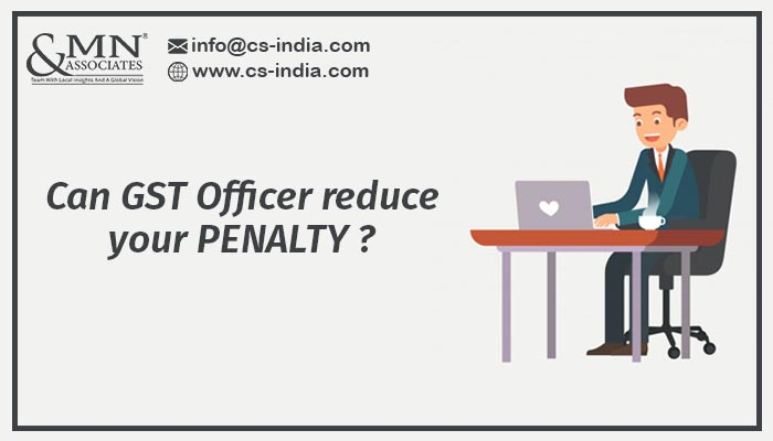 GST officer remove penalty on GST Portal