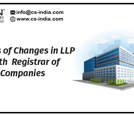Filings of Changes in LLP with Registrar of Companies